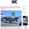 Nychos in Oakland (LoisInWonderland) Tags: nychos oakland bayarea oaklandstreetart bayareastreetart california streetart muralart publicart urbanart