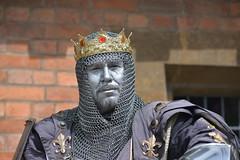 King (mattgilmartin) Tags: stratford street performer on avon king england actor tourist