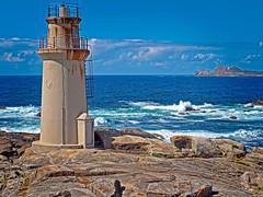 Faro Punta da Barca, Muxía (A Coruña) (Miguelanxo57) Tags: faro mar costa ría costadamorte costadelamuerte muxía acoruña galicia