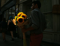 Sun Flowers (Becky Frances) Tags: beckyfrances bricklane city candid colour colourstreetphotography canpubphoto documentary england eastlondon eastend london light lensblr olympus streetphotography shoreditch street urban uk 2017