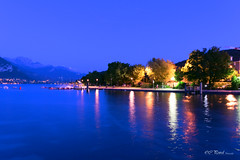 Annecy 2017 (Tophe54) Tags: france annecy blue hour bluehour nikon longexposure