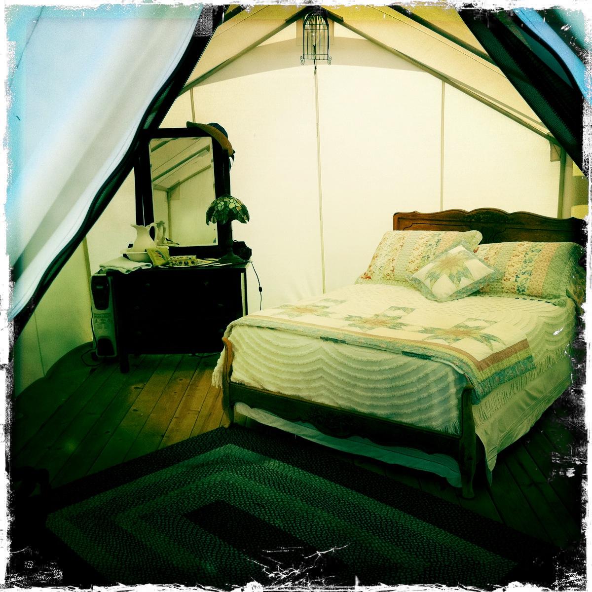 bungalow 2 & Glamping Photos - Davis Tent
