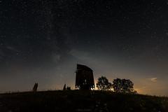 Minkowce Nocą (Stach_Trach) Tags: sokólszczyzna milkyway minkowce podlasie nocne niebo droga mleczna windmill wiatrak