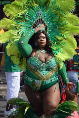 DSC_2489 Notting Hill Caribbean Carnival London Exotic Green Colourful Costume Showgirl Performer Aug 28 2017 Stunning BBW Big Beautiful Woman Plus Sized Lady (photographer695) Tags: notting hill caribbean carnival london exotic colourful costume showgirl performer aug 28 2017 stunning ladies green bbw big beautiful woman plus sized lady