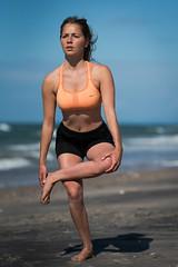 Bowspring yoga (lonerasser) Tags: laura yoga strand hav rågeleje bowspring