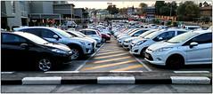Victory Parking (Finepixtrix) Tags: victorypark shoppingcentre mall parking autos johannesburg evening dusk