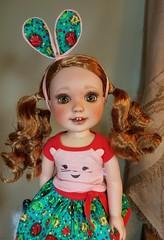 Wellie Wishers Custom Willa (ElfinHugs) Tags: american girl wellie wisher repaint custom willa