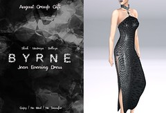 (BYRNE) Jean Evening DressAD-AugGift2017 (ByrneDarkly-www.tartiste.wordpress.com) Tags: byrne mesh dress deco groupgift free freebie gift fashion womens ladies gown