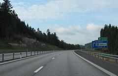 E45-24 (European Roads) Tags: e45 motorväg älvängen göteborg sweden sverige