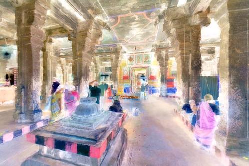 India - Tamil Nadu - Tiruchirappalli - Sri Ranganathaswamy Temple - 61bb