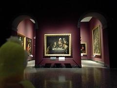 Supper at Emmaus by Caravaggio - Milan, Italy (ashabot) Tags: caravaggio art renaissance painting oilpaintings milan italy museum artmuseum italianart