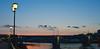 The Railway Bridge in dusk