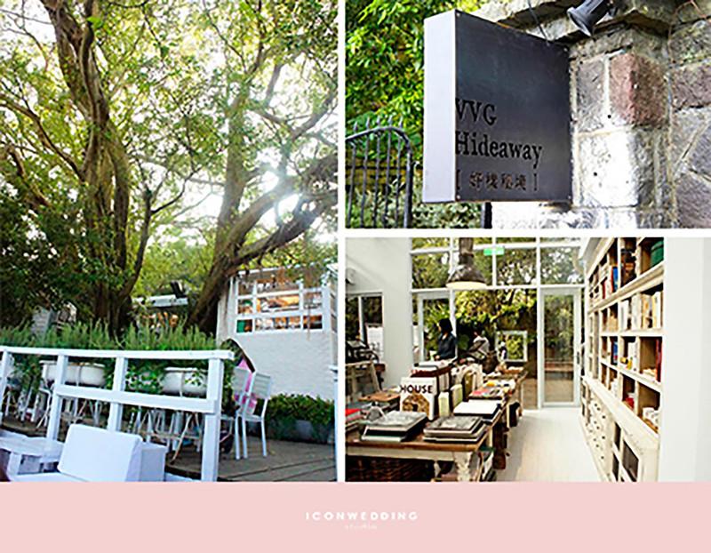 VVG Hideway好樣秘境,食尚曼谷,熱門咖啡廳,拍婚紗咖啡廳,特色咖啡廳