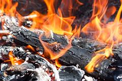 Fire ! (Tommaso Gorla) Tags: fuoco fire hot caldo scotta burn burning brucia bruciare camino griglia