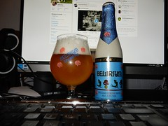 The former Delirium Tremens beer... (deltrems) Tags: delirium tremens belgian belgium beer computer monitor screen