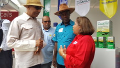 Governor General tours Denbigh Agricultural, Industrial and Food Show