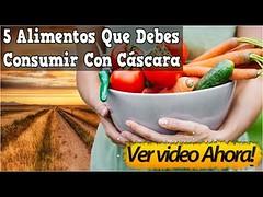 5 Alimentos Que Debes Consumir Con Cáscara, Hay Verduras Y Frutas Que Deben Ser Consumidas Crudas (SaludNatural01) Tags: 5 alimentos que debes consumir con cáscara hay verduras y frutas deben ser consumidas crudas