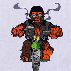 Digitize Embroidery Designs (DigitEMB - Embroidery Digitizing Services) Tags: cool bigfoot biker embroidery design