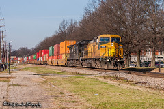 UP 9696 | GE C44-9W | NS Memphis District (M.J. Scanlon) Tags: up9696 cnw8632 up unionpacific cnw chicagonorthwestern ge c449w ns nsmemphisdistrict nsmemphisdistrictwestend norfolksouthern uofm universityofmemphis um 222 ns222 memphis tennessee digital merchandise commerce business wow haul outdoor outdoors move mover moving scanlon canon eos engine locomotive rail railroad railway train track horsepower logistics railfanning steel wheels photo photography photographer photograph capture picture trains railfan