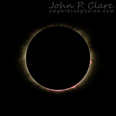 Solar Eclipse August 21st 2017 in Tennessee USA (John P Clare) Tags: eclipse moon solar solareclipse usa corona ejection shadow sun sunflare