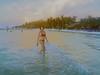 GOPR0157 Holbox Beach Girl (dchrisoh) Tags: holbox mexico tourist traveler vacation yuccatan scuba dive diver fish ocean stonefish beach chiquilla playa puertomorelos lascoches whaleshark wetset