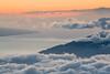 Maui from 10,000 feet (Matt McLean) Tags: clouds haleakala hawaii maui mountain sunlight sunset volcano kula unitedstates us