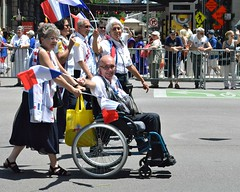 2017 International Parade of Nations (seanbirm) Tags: internationalparadeofnations lionsclub lcicon lions100 lionsclubinternational parades chicago illinois usa statestreet statest weserve mountprospectlionsclub france disabled