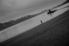 alone (Selzzi) Tags: alaskalumixfall seward shore