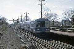 Found Photo - US NY Mineola LIRR M-1 900x (David Pirmann) Tags: train railroad transit lirr longislandrailroad ny newyork foundphoto m1 metropolitancars