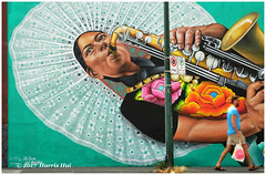 Are You In A Hurry? - Vancouver Mural Festival XT4730e (Harris Hui (in search of light)) Tags: harrishui fujixt1 digitalmirrorlesscamera fuji fujifilm vancouver richmond bc canada vancouverdslrshooter mirrorless fujixambassador xt1 fujixcamera fujixseries fujix fuji55200mmf3548 fujizoomlens mural vancouvermuralfestival walking passerby street streetcandid streetphotography streetart music musicoflife mountpleasant city urban sharp sharoness focus blur blurredmotion shopping shoppingbag mexican