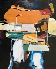 Jim Harris: Mercia Probe. (Jim Harris: Artist.) Tags: art arte lartabstrait kunst kunstzeitgenössische painting abstract abstractart peinture technology technik