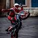 trial biker