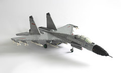 LEGO J-11B / Su-27 (1) (Everblack.) Tags: j11 lego shenyang su27 fighter aircraft toys sukhoi 120 plaairforce fighterplane legosu27 flanker