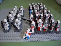 Polish Infantry Upgrade (Śląski Hutas) Tags: lego moc bricks minifigures army poland polska futuristic scifi laser
