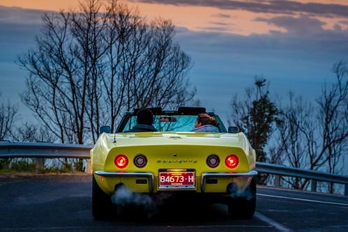 Corvette At Arthurs Seat-2