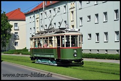 (steffenhege) Tags: gera strasenbahn streetcar tram historischertriebwagen