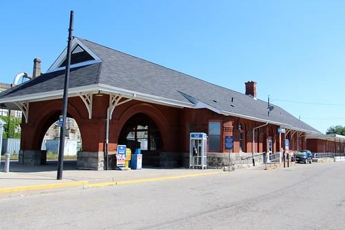 Old Canadian National Railways Station (Kitchener, Ontario)