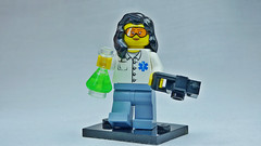 Brick Yourself Custom Lego Figure  Forensic Pathologist
