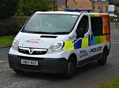 KN62NZO (Cobalt271) Tags: kn62nzo northumbria police vauxhall vivaro 2900 cdti pride van proud to protect livery