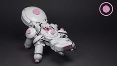 Candykoma (N-11 Ordo) Tags: koma think tank lego candy candykoma n11 ordo moc build brick robot weapons armor military scifi science fiction friends pink white gun tachikoma