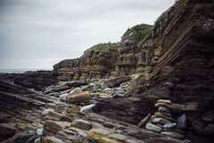 Orkney Islands, Summer 2016 (esztervaly) Tags: brough birsay island orkney islands summer nature rocks landscape sky clouds sea natural naturallight grass flowers uk united kingdom scotland gb great britain british outdoor cliff crag mountainside rock formation travel