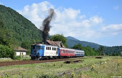 CFR 60 0770, Cornet, 9-7-2017 9:51 by Derquinho - R 2068 Sibiu - Râmnicu Vâlcea