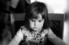 DEEP in THOUGHT (Lani Elliott) Tags: family lanielliott familypictures monochrome bw child girl deepinthought mood moody light beautiful fantastic excellent portrait brilliant gorgeous superb