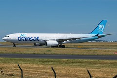 Air Transat 30 Years Livery/ C-GKST / Airbus A330-300 / LFPG-CDG taxiing / © (RVA Aviation Photography (Robin Van Acker)) Tags: planes trafic airlines avgeek airliner outdoor airplane aircraft vehicle jetliner jet jumbo air photography aviation aviationphotography paris cdg lfpg charlesdegaulle