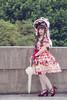 SDF_9618 (SendoFu) Tags: bonnet lolita ボンネット エプロン風スカート blouse bl ブラウス headbow kc カチューシャ bnt 蕾絲 維多利亞 jsk op onepiecedress ワンピース jumperskirt ジャンパースカート nop lolitafashion 蘿莉塔 蘿莉塔時裝 ロリータ・ファッション sweetlolita classicallolita