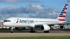 N194AA (AnDyMHoLdEn) Tags: americanairlines 757 oneworld egcc airport manchester manchesterairport 23l