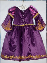 Disneyland Purchases - 2017-09-10 - Rapunzel Deluxe Costume - Full Rear View (drj1828) Tags: disneystore disneyland purchase rapunzel tangled deluxe costume girls designer disneydesignercollection 2017