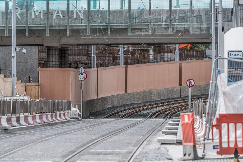 THE NEW LUAS TRAM STOP AT BROADSTONE [TESTING PHASE UNTIL EARLY DECEMBER]-1324715