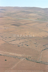 Shaubak Field Clearance (APAAME) Tags: oblique scannedfromnegative aerialarchaeology aerialphotography middleeast airphoto archaeology ancienthistory tafilahgovernorate jordan
