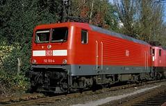 112 133  Dortmund  15.10.99 (w. + h. brutzer) Tags: dortmund eisenbahn eisenbahnen train trains deutschland germany elok eloks railway lokomotive locomotive zug db dr 112 webru analog nikon